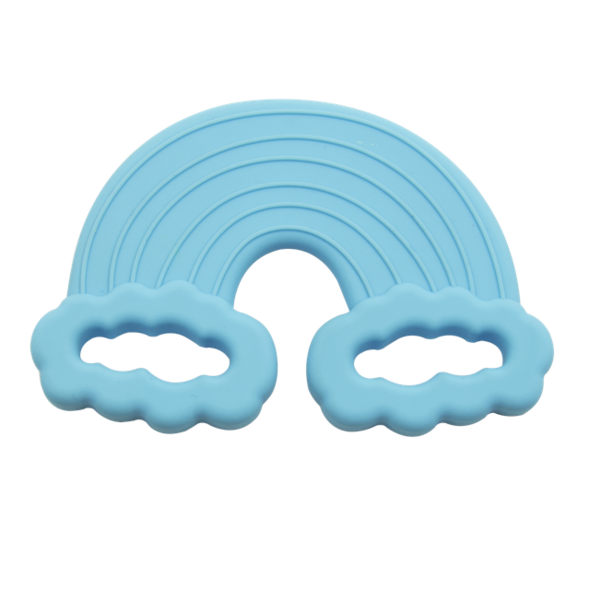 Blue Rainbow Teething Toy