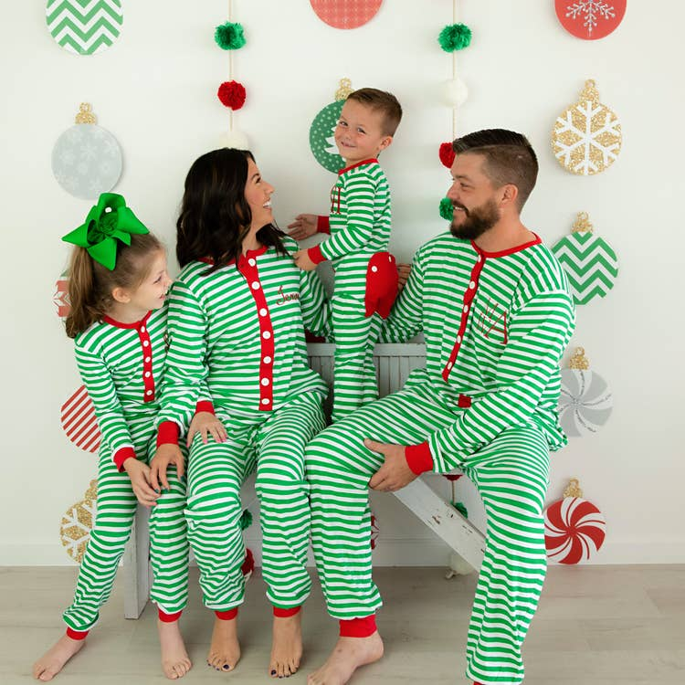 Faux Flap Christmas Pajamas~ Unisex Adult