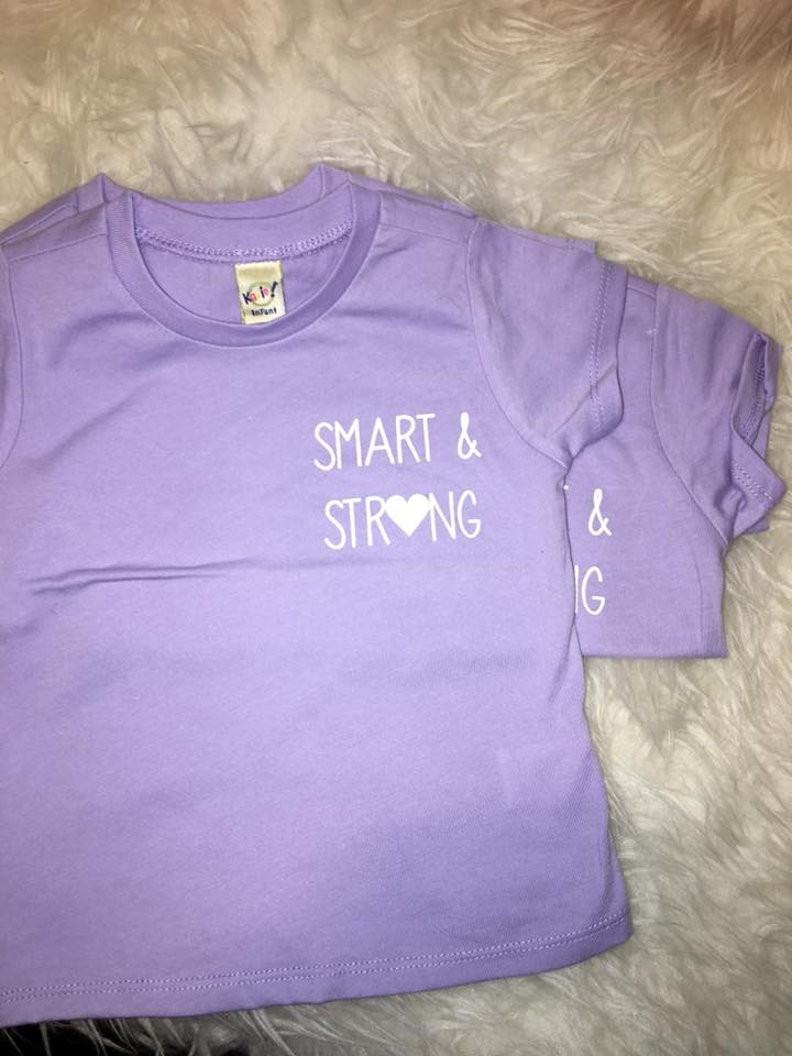 Smart + Strong Tee