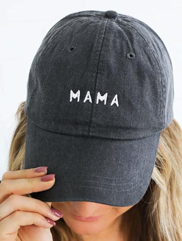 Mama Embroidered Hat