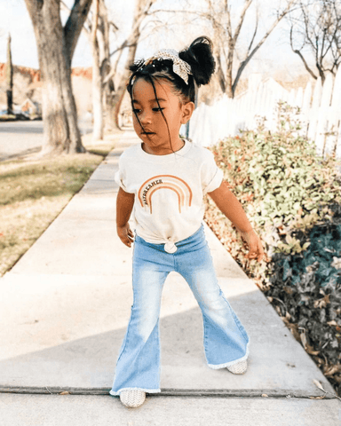 Sophie Denim Bell Bottoms