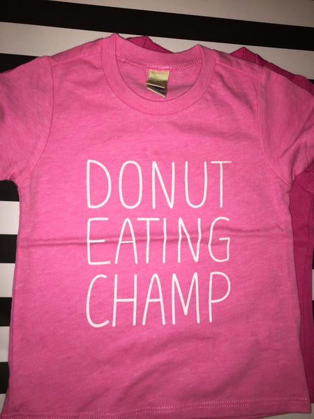 Donut Eating Champ Tee