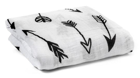 Arrows Organic Muslin Swaddle