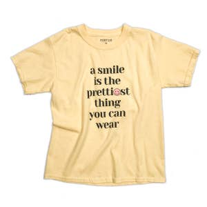Yellow Smile Tee