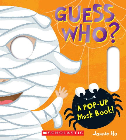 Guess Who? A Pop Up Mask Book