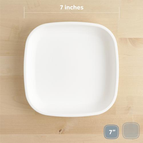 "White 7"" Plate"