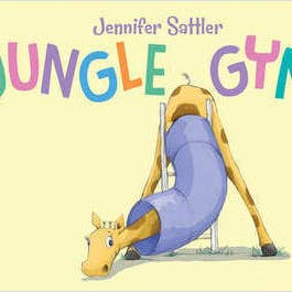 Jungle Gym Toddler Board Book