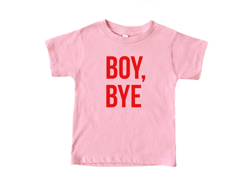 Boy, Bye Kids Tee