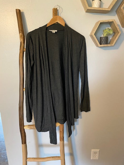 Favorite Lightweight Cardigan in Charcoal