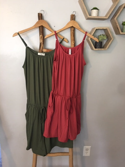 The Favorite Tank Romper