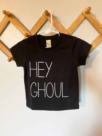 Hey Ghoul Black Tee