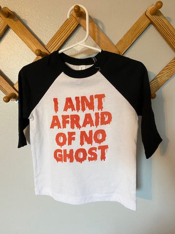 I Ain't Afraid of No Ghost Raglan