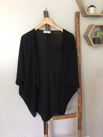 The Favorite Kimono in Black