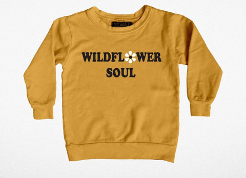 Wildflower Soul Boxy Girls Sweatshirt