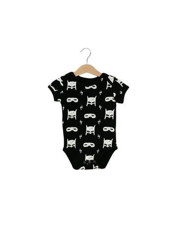 Organic Short Sleeve Bodysuit- HeroStruck