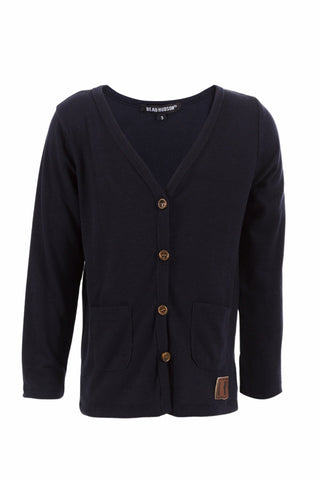 Navy Signature Cardigan