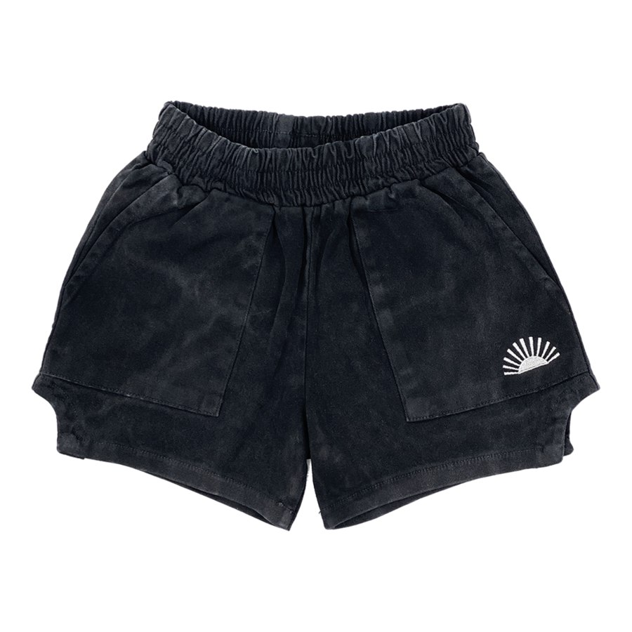 Tiny Whales Retro 'Dad' Shorts, Toddler Boys