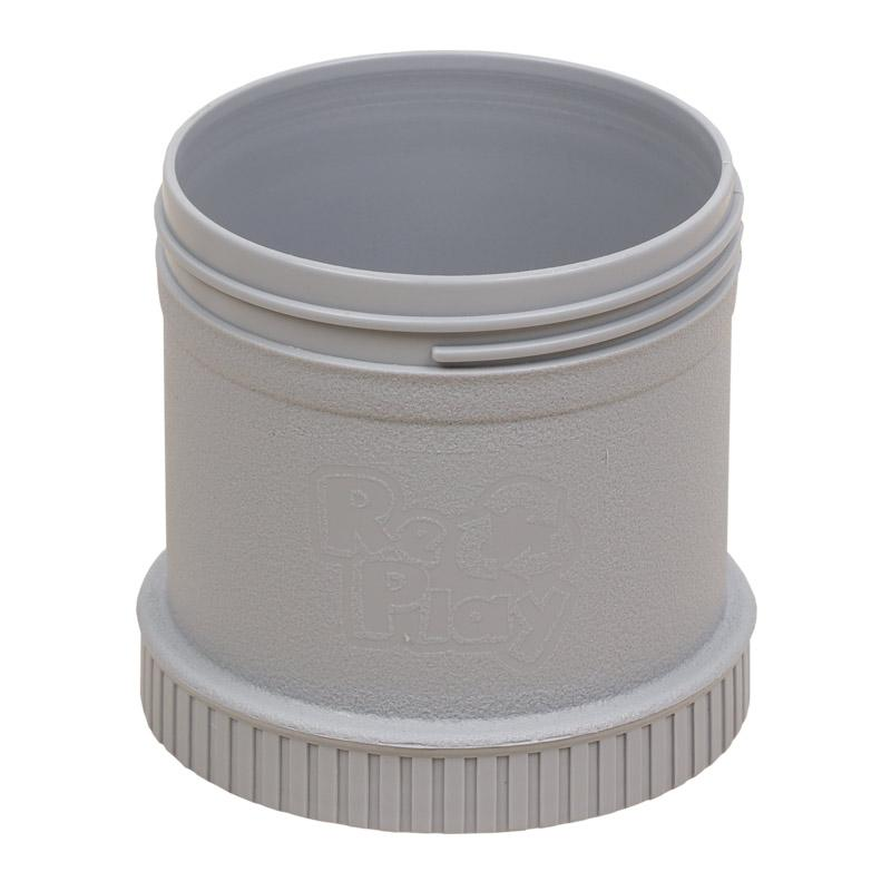Gray Snack  Pod (One Base + One Lid)