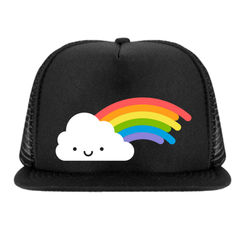 Kawaii Rainbow Snapback Trucker Hat