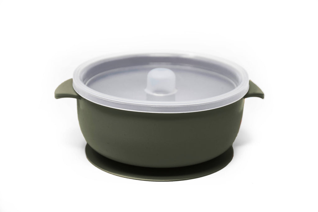 Baby Suction Bowl~ Forest