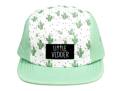 Cactus Five Panel Snapback Hat