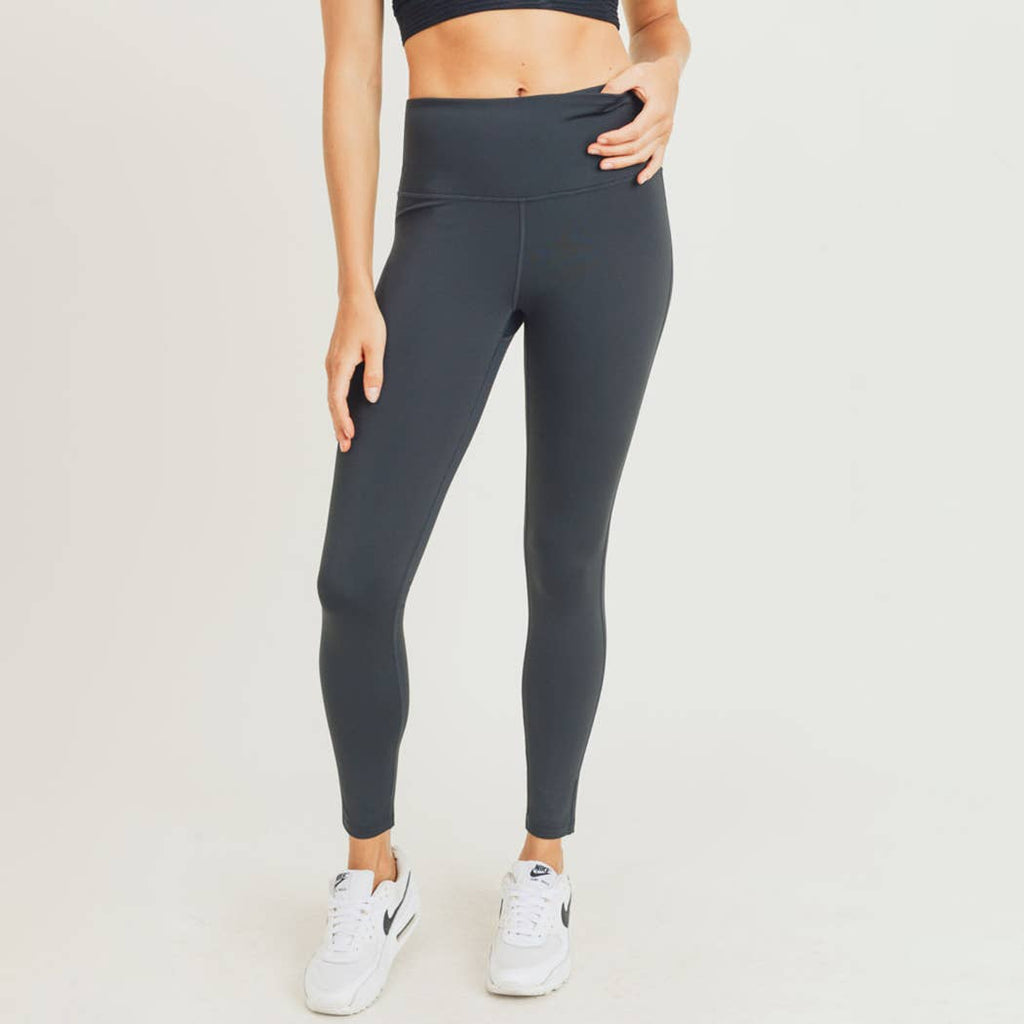 Essential High Waist Leggings S-L Black