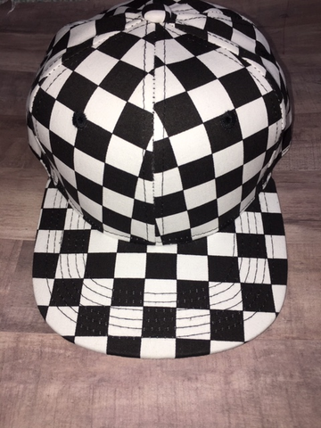 Checkered Kids Hat