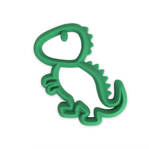 Chew Crew™ Silicone Baby Teether Dino