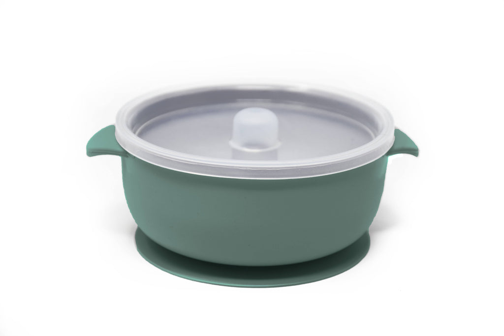 Baby Suction Bowl~ Seafoam