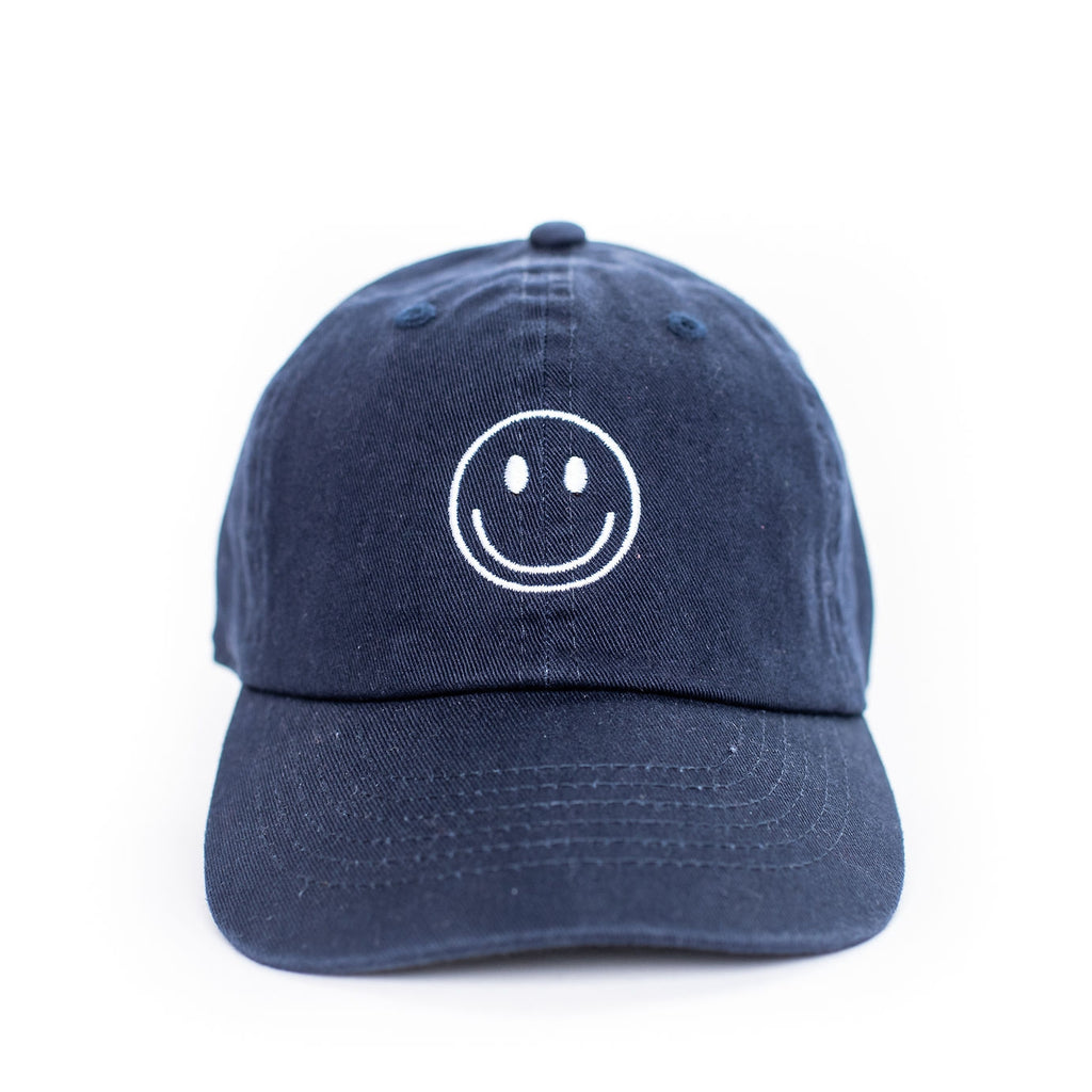 Smiley Face Embroidered Hat
