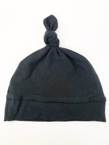 Black NB Knot Hat