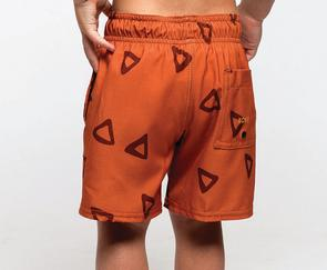 Rust Skipper Recycled Swim Trunks