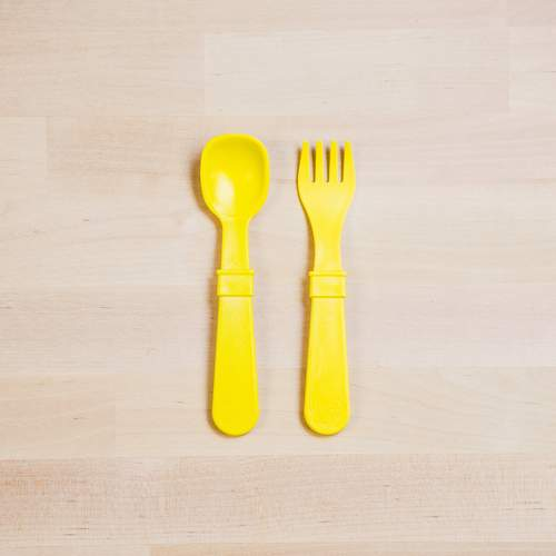 Yellow Utensil Set