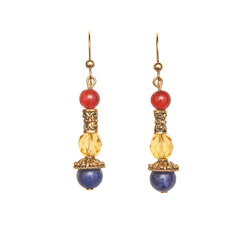 Etruscan Style Pirate Earrings
