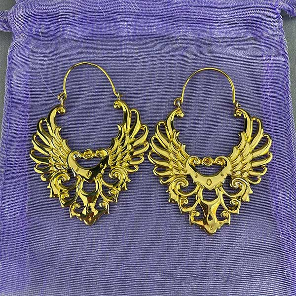 Etruscan Style Earrings 09