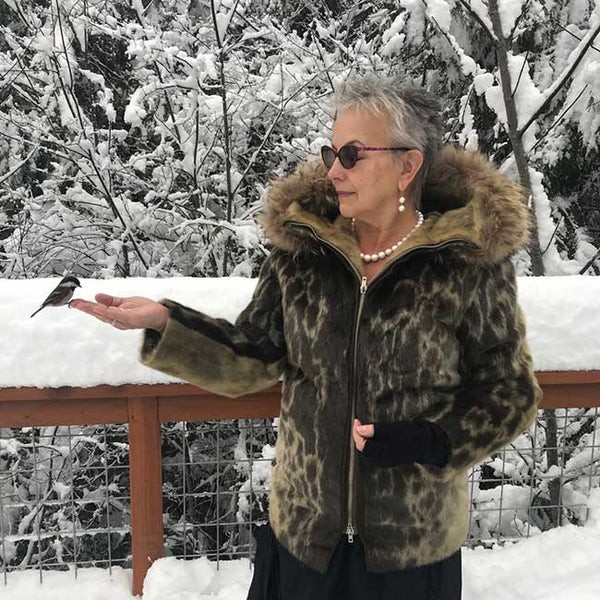 Fancy Vintage Eskimo Style Genuine Sealskin Parka