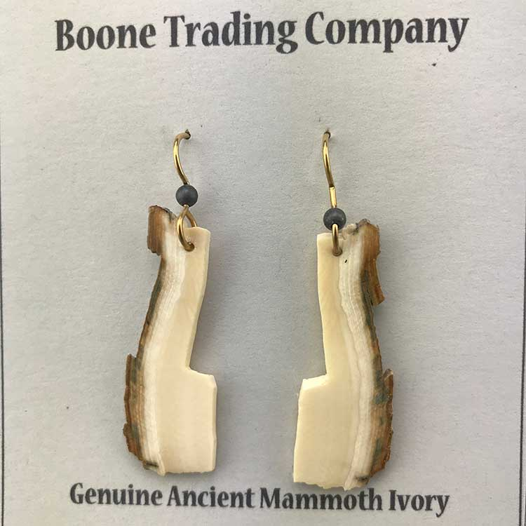 Mammoth Ivory Earrings 03
