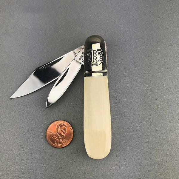 Mammoth Ivory Handled Folding Knife (21)