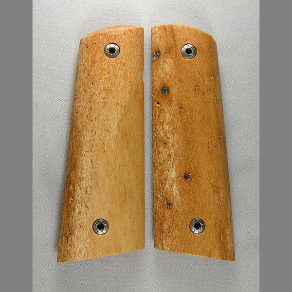 1911 Sea Cow Bone Pistol Grips 15