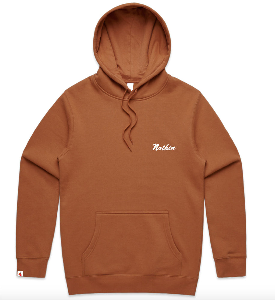 Nothin Basic Hoodie - Copper