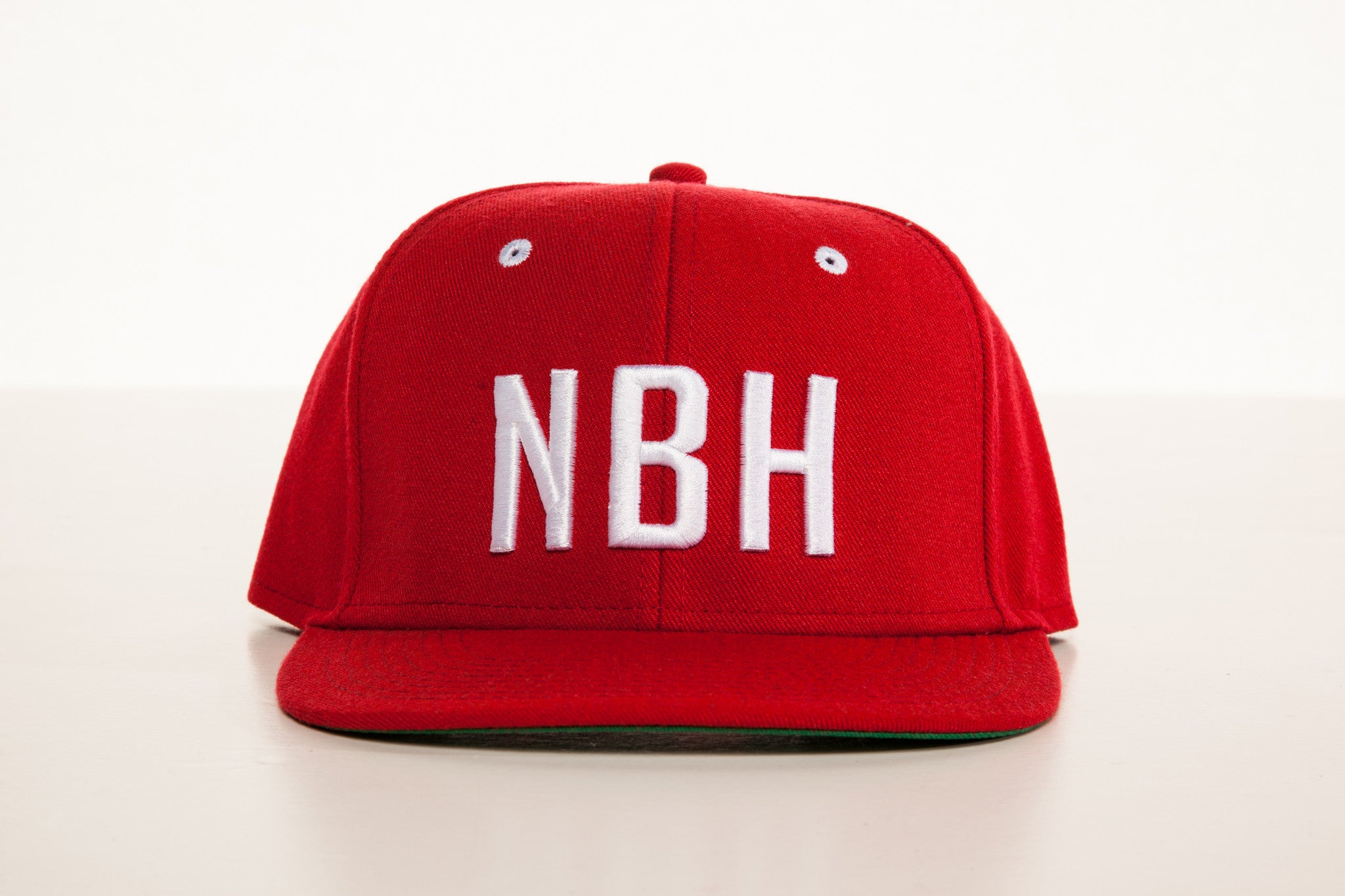 """NBH"" Snapback: Red/White"