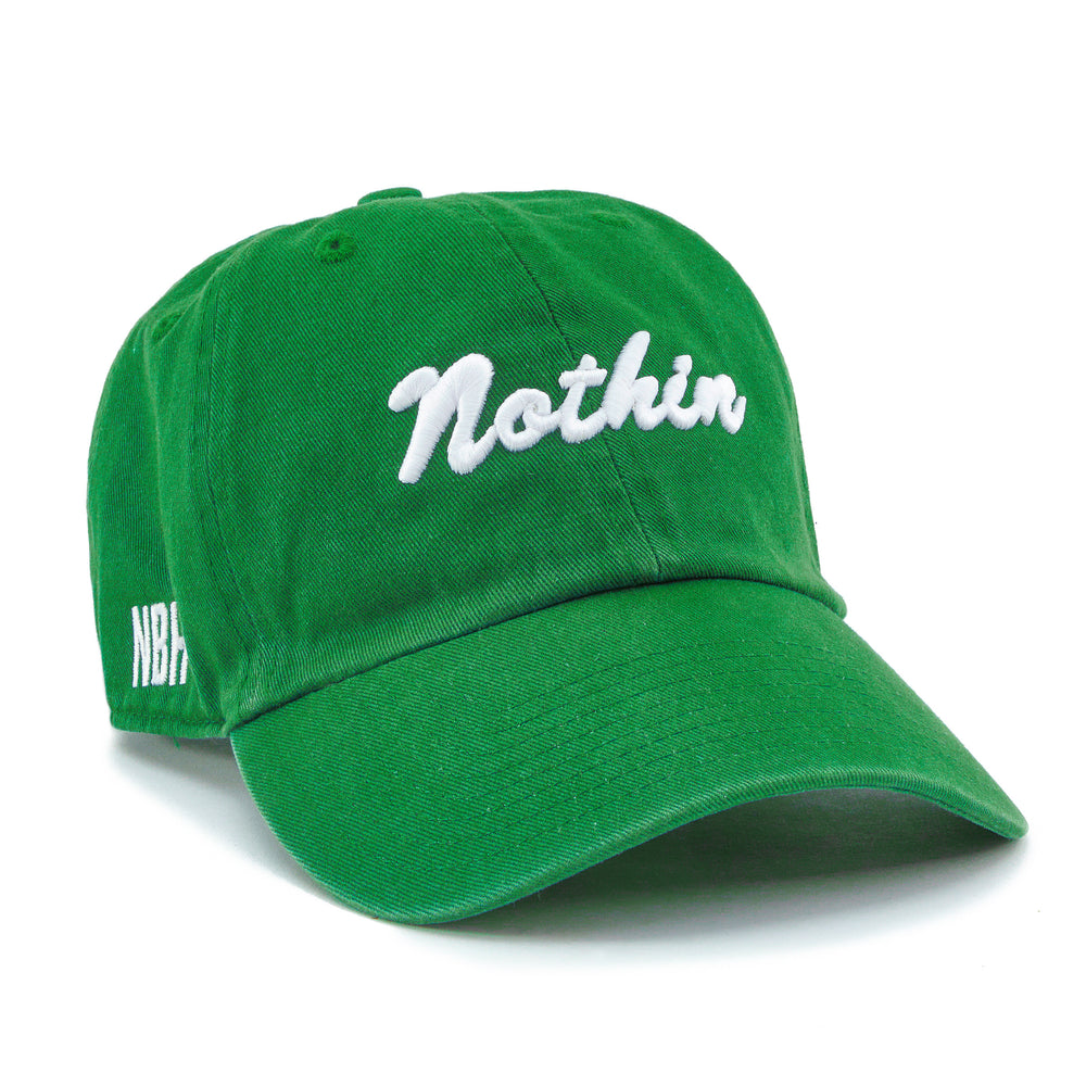 Nothin Strapback Hat - Kelly Green