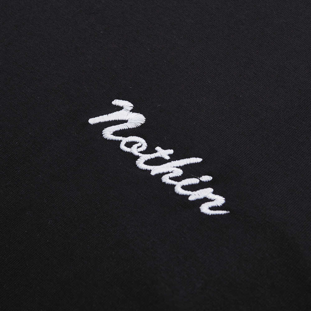 Load image into Gallery viewer, Nothin Basic Long Sleeve - Black (Men's)