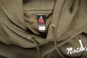 "Load image into Gallery viewer, Olive ""Nothin"" Hoodie"