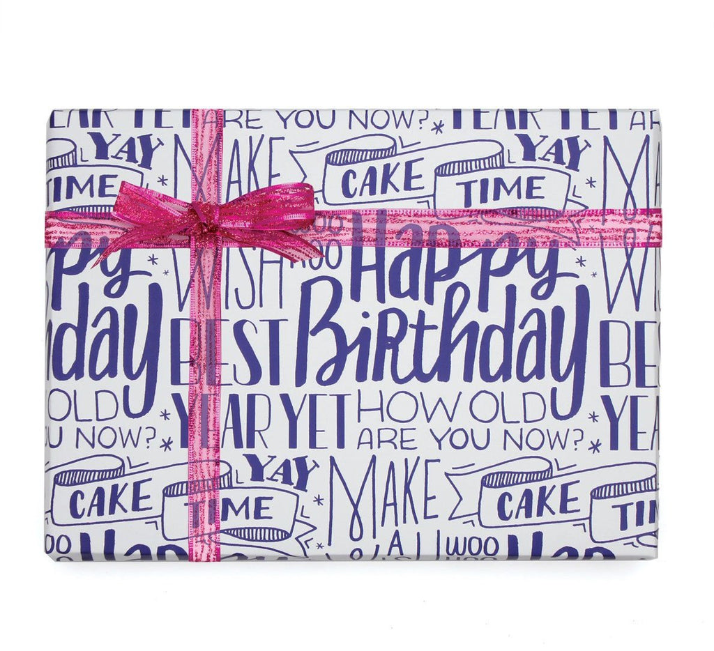 A Type of Birthday Gift Wrap