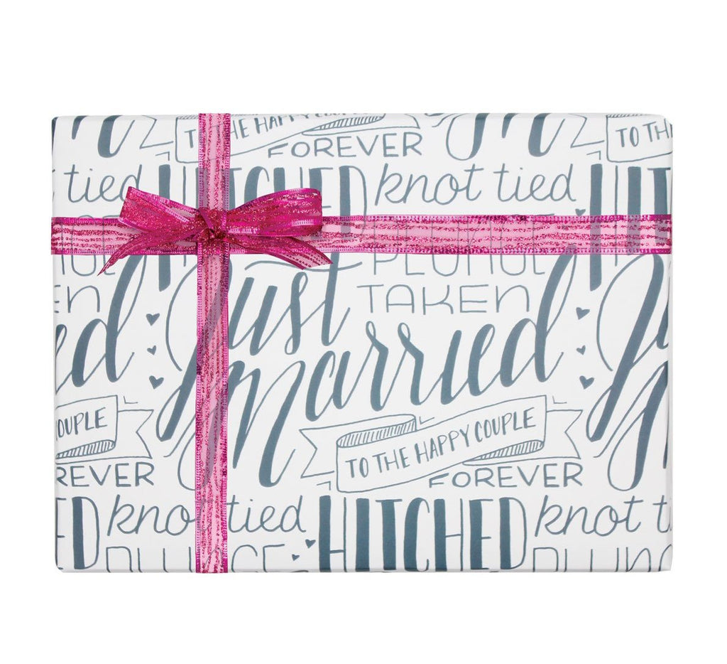 A Type of Wedding Gift Wrap