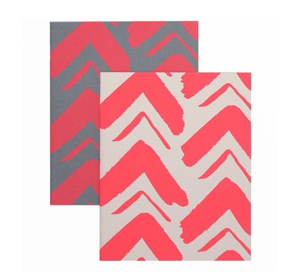 ZigZag Design - Mini Notebook Set
