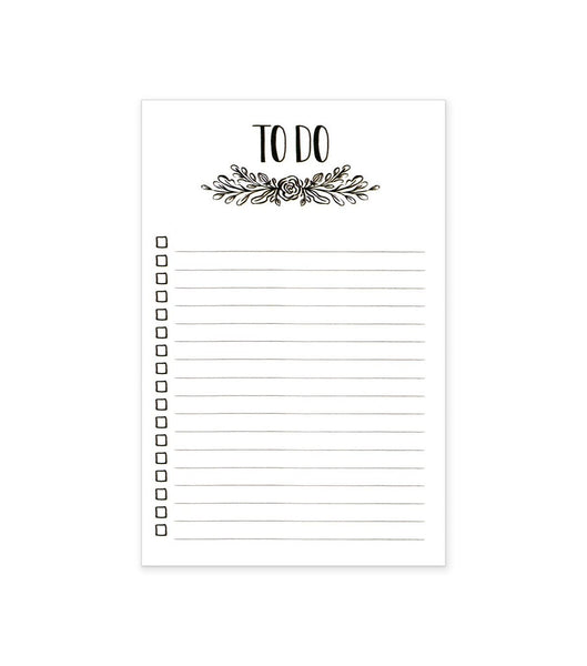 Blossoming To-Do's Notepad