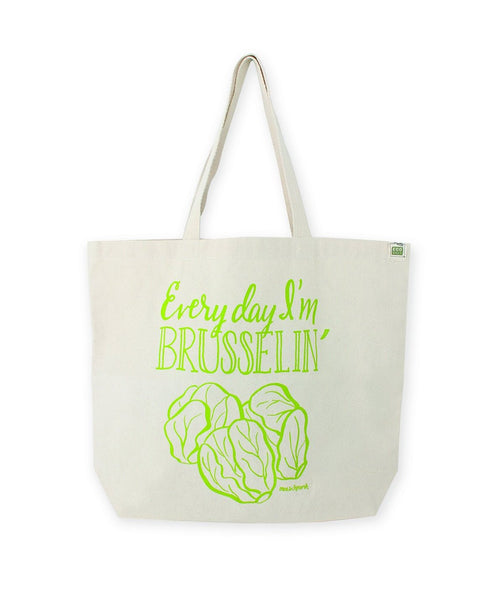 Brusselin' Tote Bag