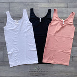 Seamless Layering Tank Top - The Wooden Hanger Boutique